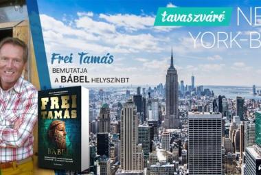 Tavaszváró New York-ban Frei Tamással és magyar idegenvezetéssel