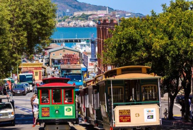San Francisco-i városlátogatás