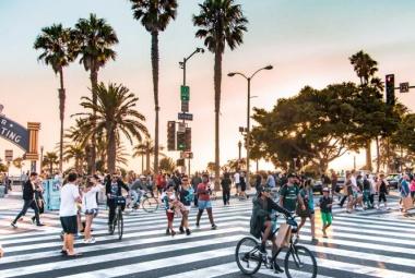 Los Angeles városlátogatás