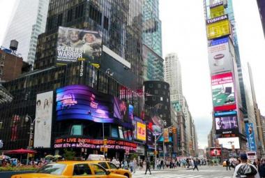 New York városlátogatás